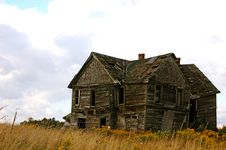 Free Abandoned House Royalty Free Stock Image - 1815616