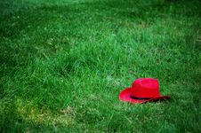 Free Red Cowboy Hat Royalty Free Stock Image - 1816016