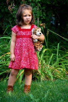 Free Worried With Tiger Royalty Free Stock Image - 1816146