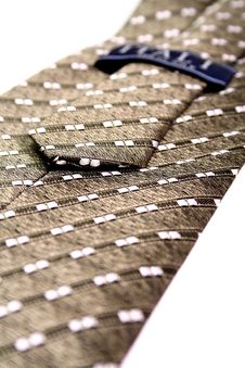 Free Tie Of The Businessman With A Simple Pattern - Made In Italy Stock Image - 1817041