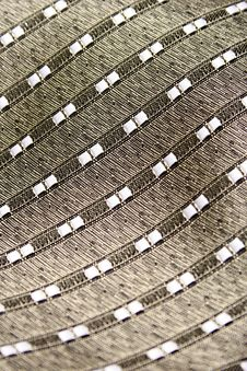 Fabric For A Tie With A Simple Pattern Stock Photo