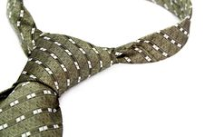 Free Tie With A Simple Pattern - A Personal Accessory Of The Business Royalty Free Stock Image - 1817086