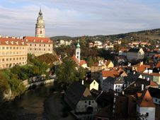 Free Cesky Krumlov Castle Stock Photo - 1817700