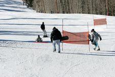 Free People Snow Boarding Stock Photos - 1819183