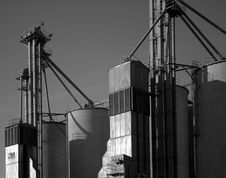 Free Grain Silos Stock Images - 1819454