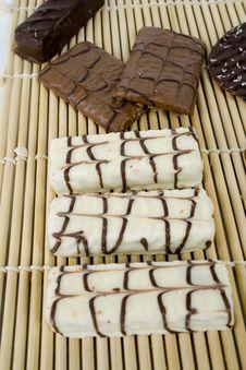 Free White And Dark Chocolates Stock Photo - 1819720