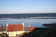 Free Saltburn Coastline North Sea Royalty Free Stock Images - 1819929