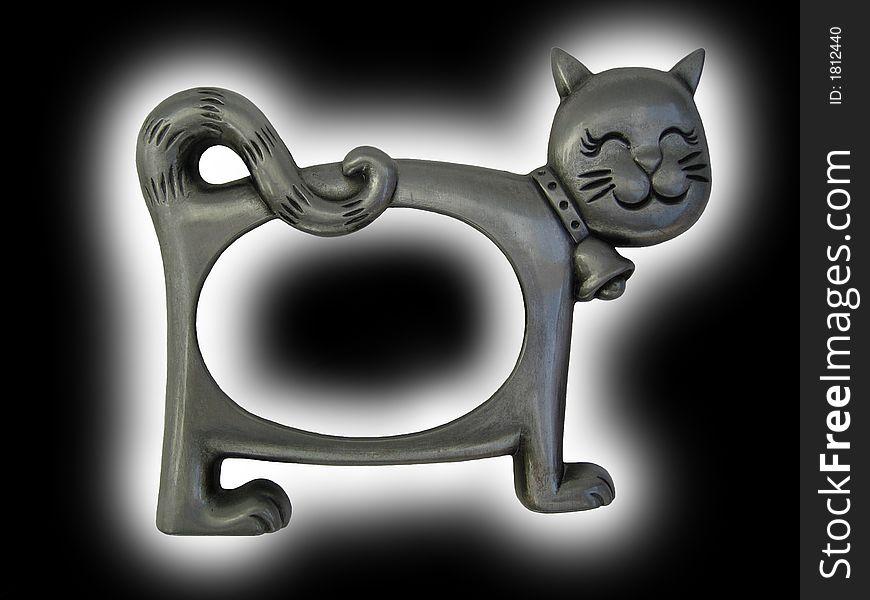 Kitten photo frame