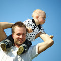 Free Father And Son Royalty Free Stock Image - 18100316