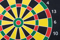 Free Multi-colored Target For Darts Stock Image - 18100961