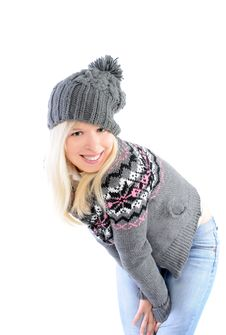 Pretty Girl In Winter Clothes Stock Image