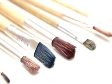 Free Paintbrushes Stock Images - 18101654