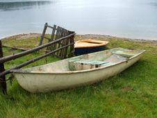 Rusty Boats Royalty Free Stock Photo