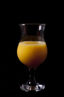 Free Glass Of Orange Juice Stock Photos - 18101903