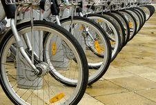 Free Bikes Royalty Free Stock Photography - 18102327