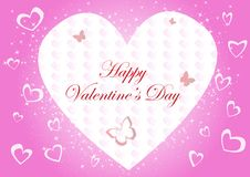 Free Vector Valentine Background Royalty Free Stock Images - 18103069