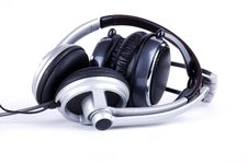 Free Grey Headsets Royalty Free Stock Photos - 18103278