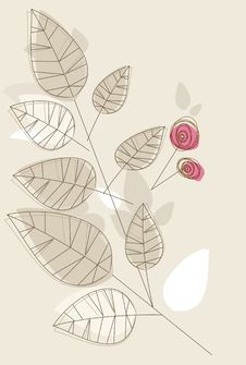 Free Floral Card Stock Images - 18103384