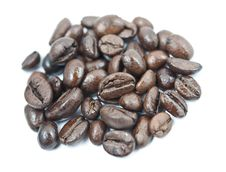 Free Coffee Beans Pile Close Up Stock Photo - 18103400