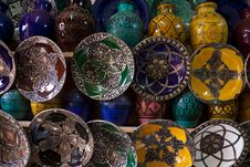 Free Morocco Crafts Stock Image - 18103771