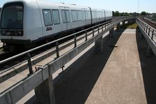 Free Copenhagen Metro Line Stock Photography - 18103812