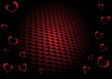 Free Vector Valentine Background Royalty Free Stock Image - 18104736