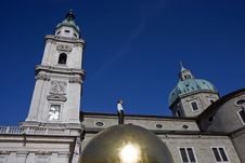 The Dome Cathedral In Salzburg, Austria Royalty Free Stock Photos