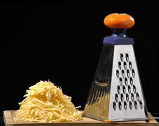 Free Grated Cheese Royalty Free Stock Photo - 18105095