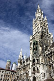 Free Marienplatz In Munich Stock Image - 18105201