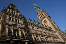Free Hamburg City, Town Hall Royalty Free Stock Photography - 18106127