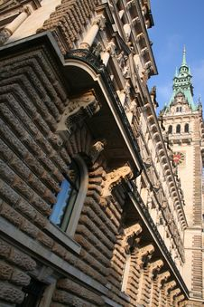 Free Hamburg City, Town Hall Royalty Free Stock Image - 18106176