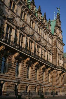 Free Hamburg City, Town Hall Stock Photos - 18106203