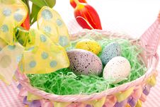 Free Easter Colorful Eggs Royalty Free Stock Photos - 18106448