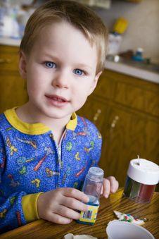 Free Decorating Cookies Stock Photos - 18106643