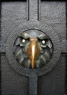 Iron Eagel - Door Ornament