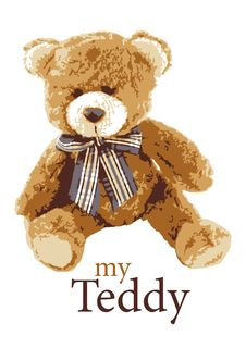Free Teddy Royalty Free Stock Photography - 18106737