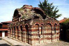 Free Old Church In Nesebar Stock Photography - 18106772