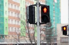 Free Traffic Light Royalty Free Stock Photos - 18107358