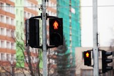 Free Traffic Light Stock Images - 18107374