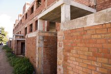 Free Red Brick Building Royalty Free Stock Image - 18108706
