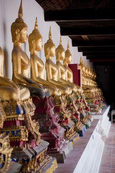 Free Buddha Of Thailand Temple Stock Image - 18109711