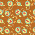 Free Seamless Flower Pattern Stock Photography - 18113312