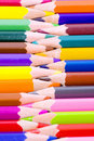Free Color Pencils Close Up Stock Image - 18118071
