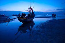 Free Fisherman Boat Royalty Free Stock Image - 18110186