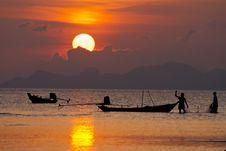 Free Sunset Life Stock Photos - 18110223