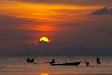 Free Sunset Life Stock Photos - 18110233