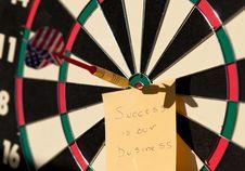 Free Dart Board Stock Image - 18110991