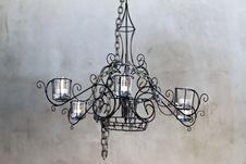 Free Decorative Chandelier Stock Photo - 18111590