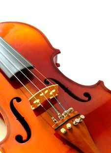 Free Part Of New Violin Stock Images - 18111804