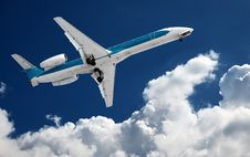 Big Airliner Royalty Free Stock Photos